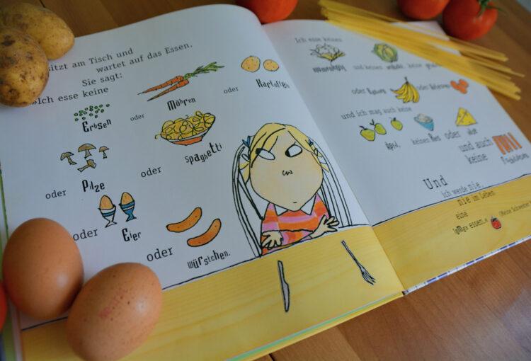 Pia isst kein Tomaten, Spaghetti, Käse