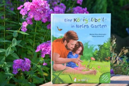 Eine Königslibelle in Neles Garten: Der Lebenskreislauf einer Libelle