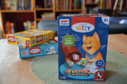 Langland Yatzy: Ein Spieleklassiker für Familien mit Kids von Pegasus Spiele + Gewinnspiel