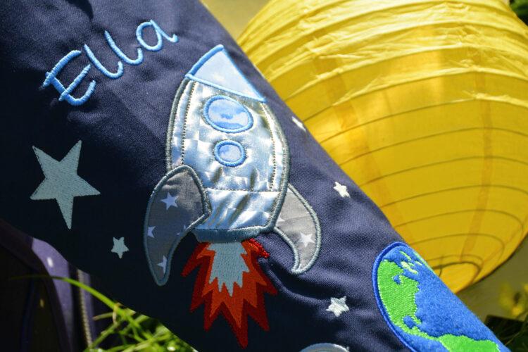 Weltraum-Schultüte Rakete
