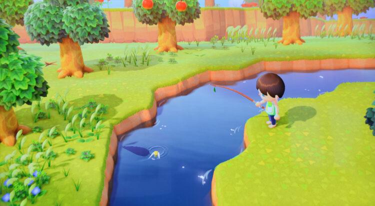 Animal Crossing angeln