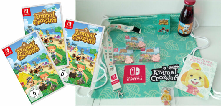 Animal Crossing Switch Merchandise