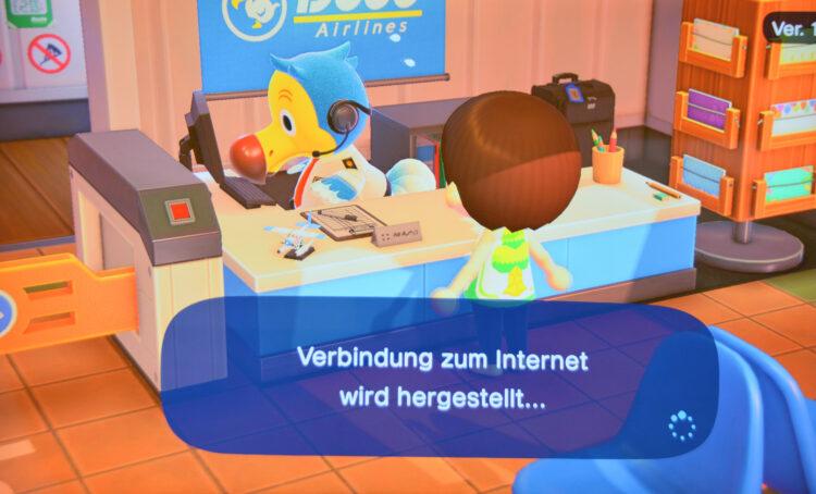 Zu anderen Inseln reisen Animal Crossing