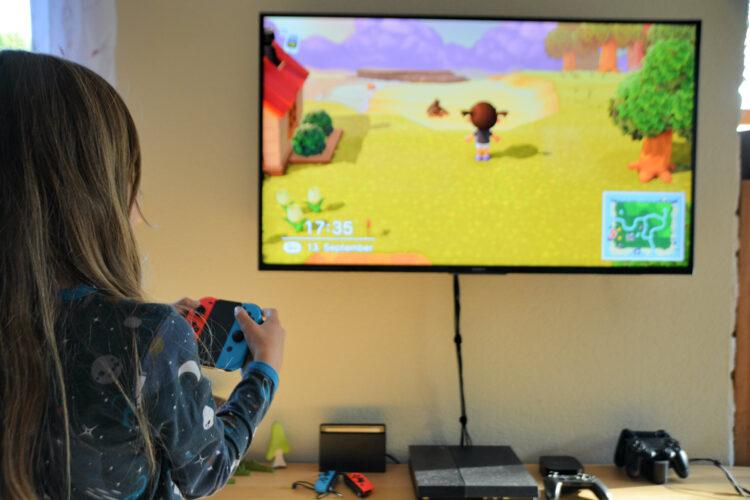 Kind spiel Animal Crossing