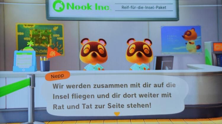 Animal Crossing Nepp und Schlepp
