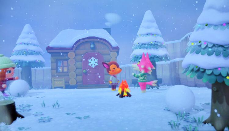 Animal Crossing - New Horizons Winter
