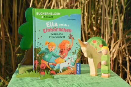 Bücherhelden – 1. Klasse: Ella und das Einhörnchen – Magische Freundschaft + Verlosung