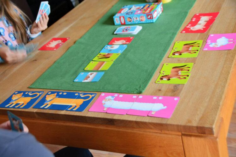 Familienspiel ohne Zahlen