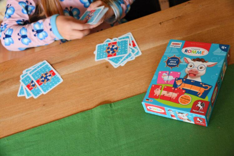 Langland Rommé Karten mischen