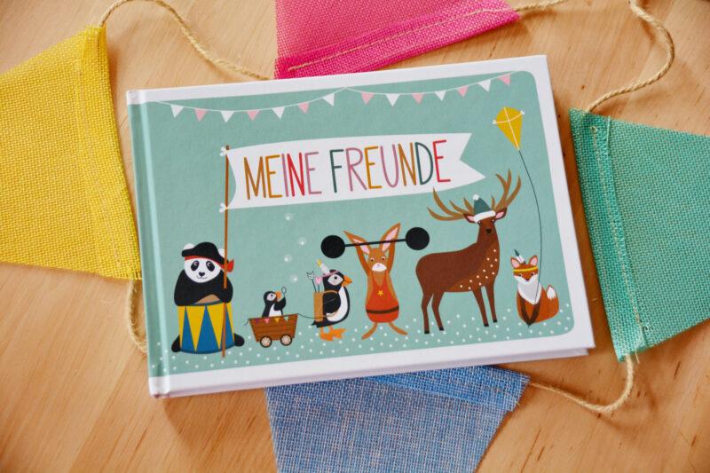 Meine Freunde: Das vielseitig kreative Freundebuch von NellieUndFinn
