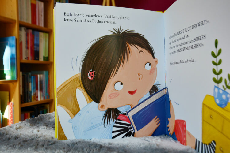 Bücherliebe Kinderbuch lesen