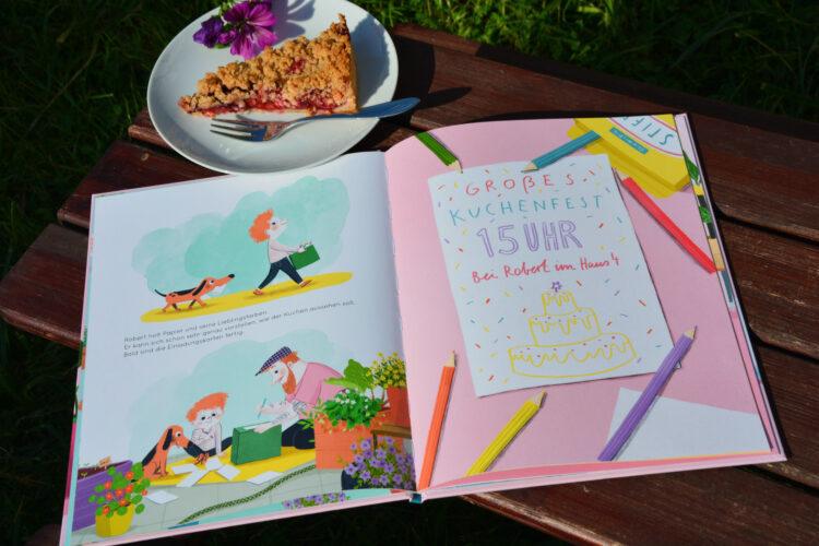 Roberts weltbester Kuchen Bilderbuch