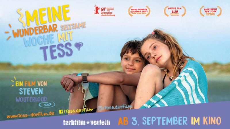 Familien-Sommerabenteuer: Meine wunderbar seltsame Woche mit Tess + Gewinnspiel