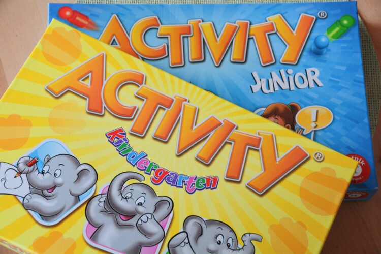 Activity Junior Kinder Kinderspiel
