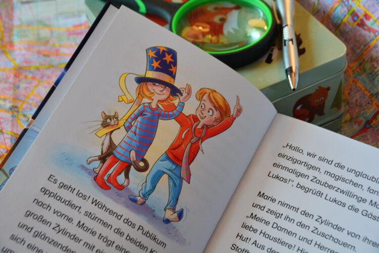 Marie und Lukas Rätsel-Krimi