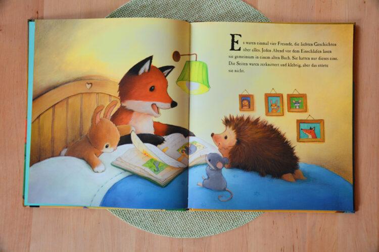 Bilderbuch über das Lesen