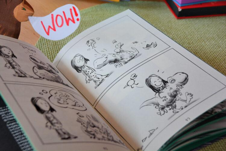 Groona Comic Loewe WOW!