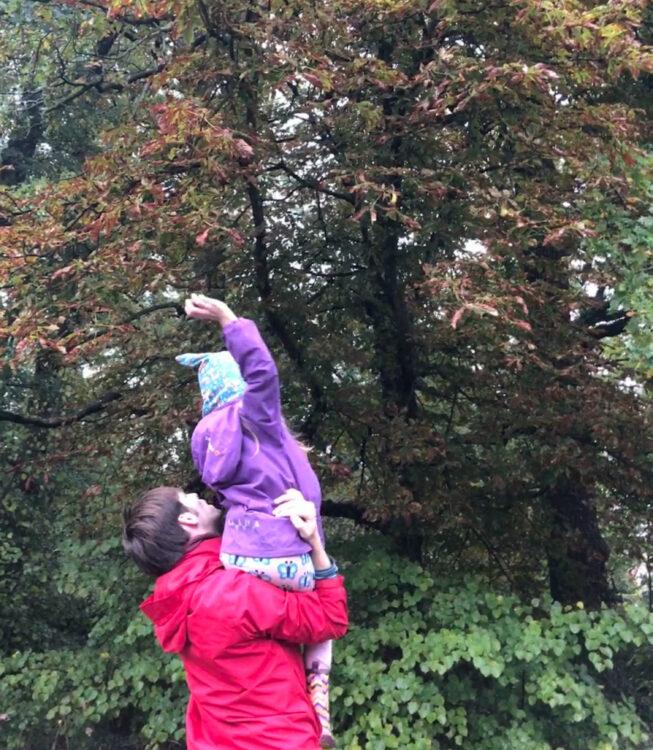 Herbstferien mit Kastanien
