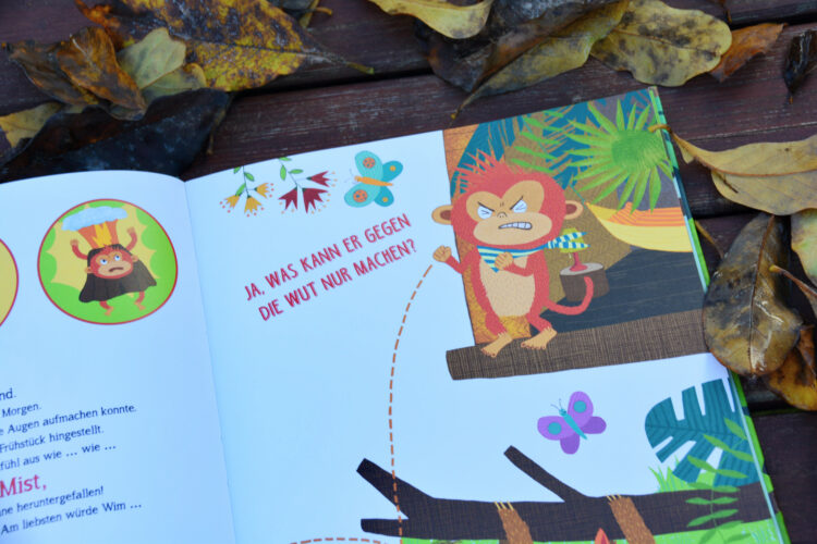 Mitmachbuch Wut Kinderbuch
