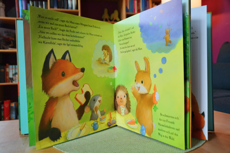 Bücherei Kinderbuch 360 Grad Verlag