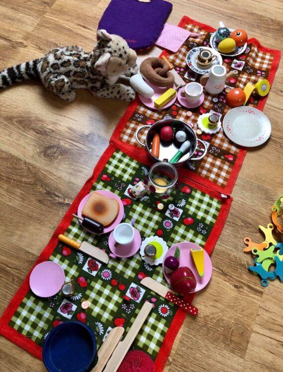 Kuscheltier-Geburtstags-Picknick