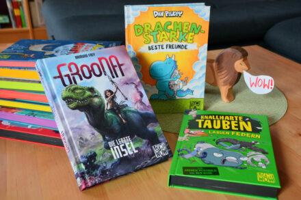 #BuchmesseToGo: Loewe WOW! – Der comicstarke Lesespaß geht weiter!