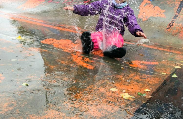 Herbstferien mit Regen