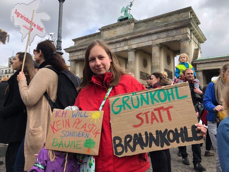 Klimawandel Klimastreik 2019 Berlin