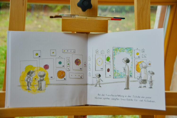 Kunst Mut malen Kinderbuch
