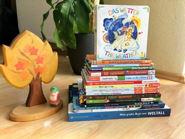 Kinderbuchstapel 6 Jahre
