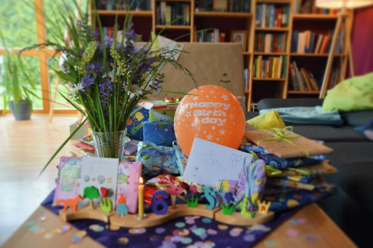 Ellas Geburtstagstisch 6 Jahre