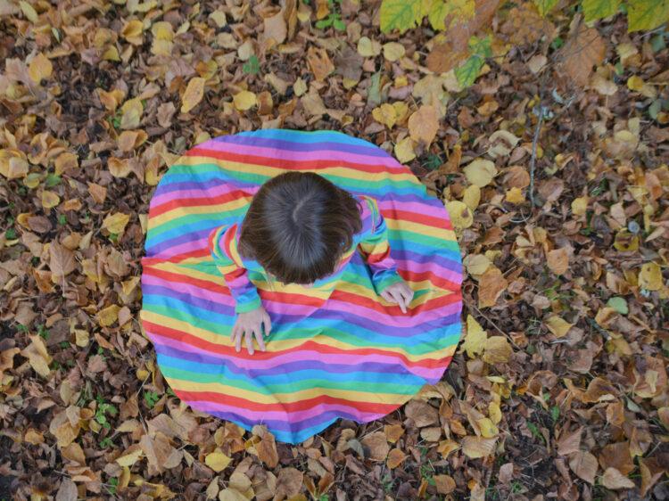 Bio-Kindermode Kinderkleidung Regenbogen