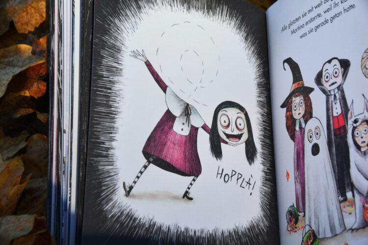 Mortina Zombie-Mädchen Kinderbuch