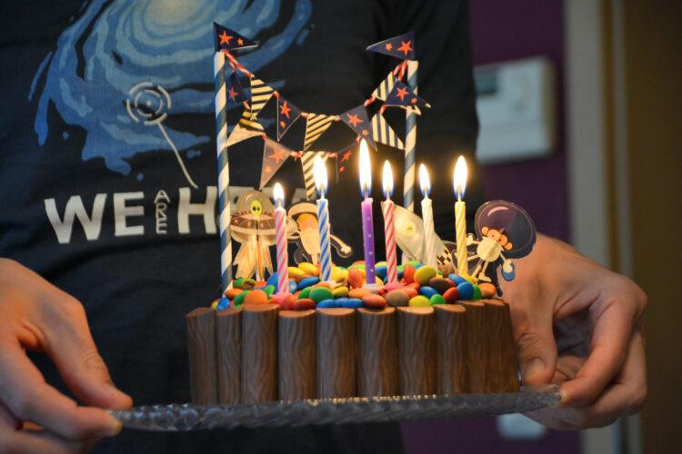 Ellas Geburtstagstorte Schokotorte