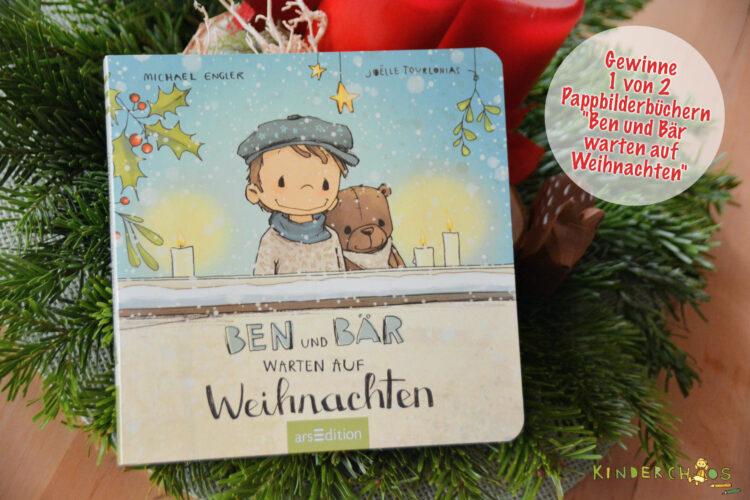 Gewinnspiel Ben und Bär warten auf Weihnachten