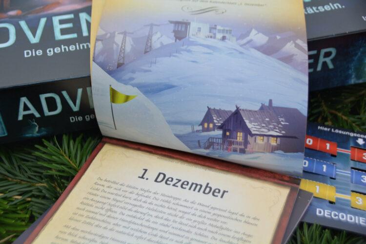 Exit - Das Spiel: Adventskalender - Die geheimnisvolle Eishöhle