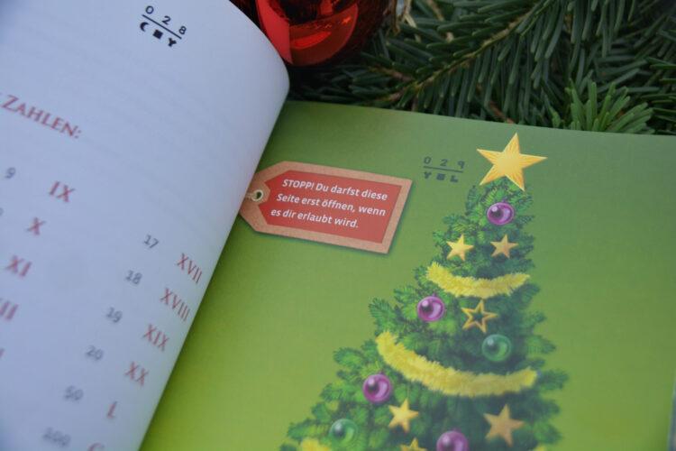 Exit - Das Buch: Der Adventskalender - Die finstere Weihnacht