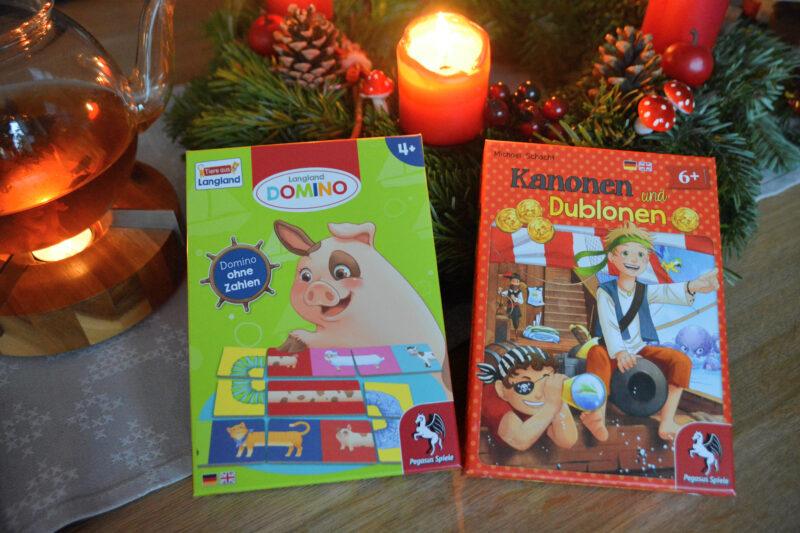 Adventszeit ist Spielzeit: Langland Domino und Kanonen und Dublonen + Gewinnspiel