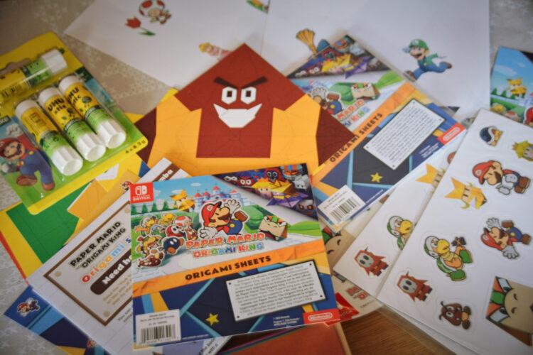 Nintendo Switch Mario Origami