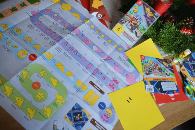 Paper Mario Origami Figuren