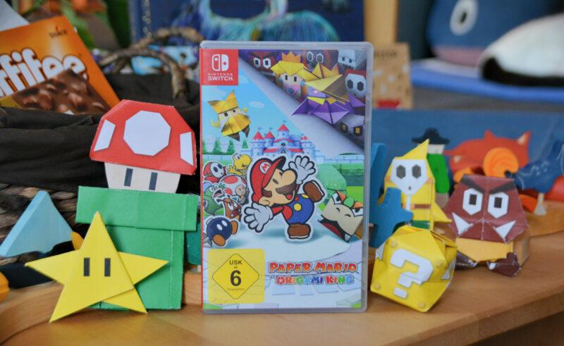 Mein 34. Geburtstag mit Paper Mario: The Origami King für die Nintendo Switch + Verlosung
