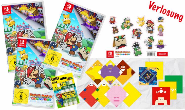 Gewinnspiel Paper Mario: The Origami King