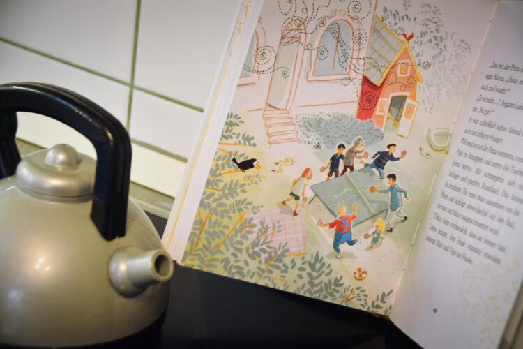 Familienzeit im Garten Kinderbuch