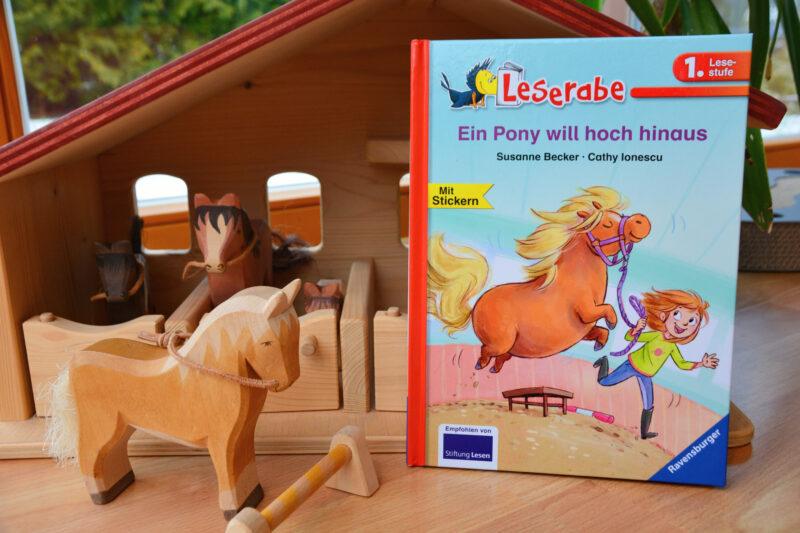 Leserabe – Ein Pony will hoch hinaus: Wenn du willst, kannst du alles werden!