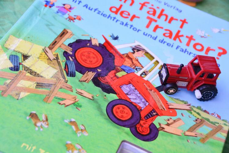 Wohin fährt der Traktor? Usborne Verlag