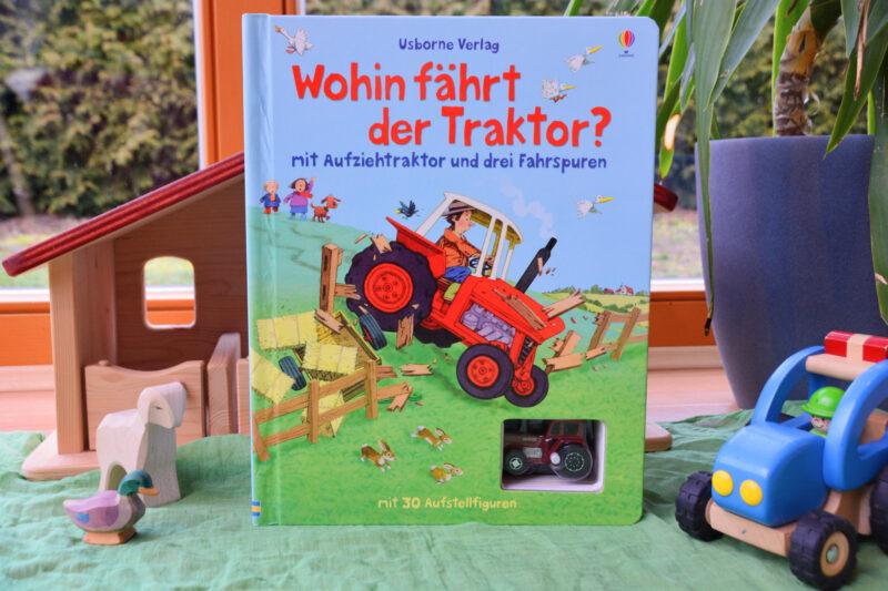 Wohin fährt der Traktor? – Ein Kinderbuch mit eigener Spielwelt!