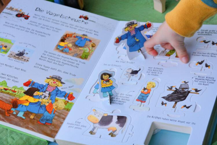 Kinderbuch Spielbuch Traktor