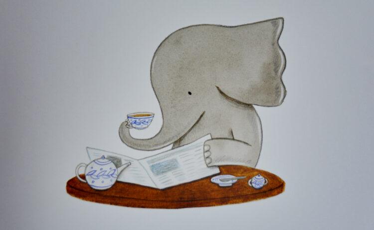 Elefanten-Dame Henrietta