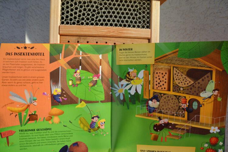 Das Insektenhotel Kinderbuch