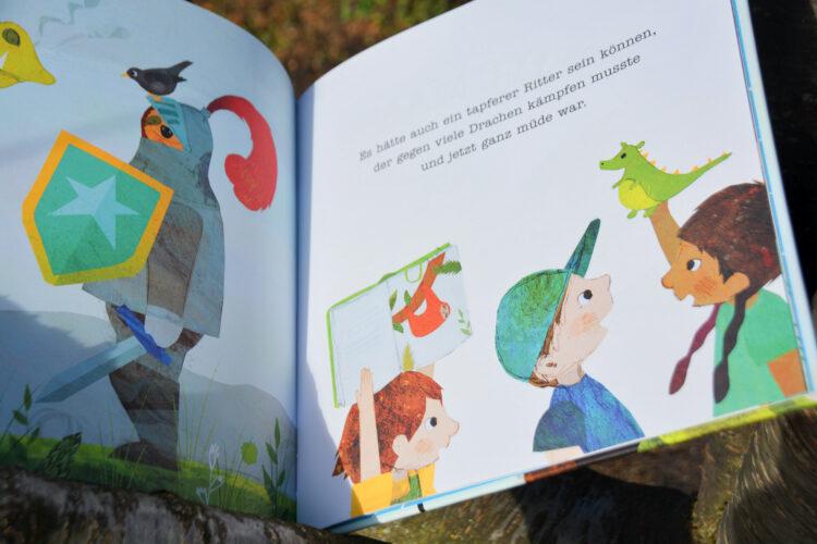 Kinderbuch Faultier gefunden